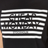 Cheap Monday Women's Capsule Stripe Logo T-Shirt Dress - Black: Image 4