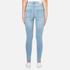 Cheap Monday Women's High Spray Jeans - Stone Bleach: Image 3