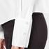 Cheap Monday Women's Force Poplin Shirt - White: Image 6