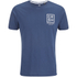 Crosshatch Men's Hicker Graphic T-Shirt - Estate Blue: Image 1