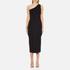 Theory Women's Yuleena Lustrate Midi Dress - Black: Image 1