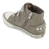 Ash Kids' Frog Leather Buckle Hi Top Trainers - Perkish: Image 4