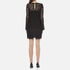 Diane von Furstenberg Women's Lavana Dress - Black: Image 3