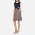 Diane von Furstenberg Women's Rosalie Dress - Midnight/Brown: Image 2
