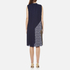 Diane von Furstenberg Women's Anabel Dress - Midnight/Canvas: Image 3