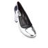 Dune Women's Acapela Metallic Court Shoes - Silver: Image 2