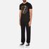 Versace Jeans Men's Foil Print T-Shirt - Black: Image 4