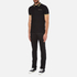 Versace Jeans Men's Tipped Polo Shirt - Black: Image 4