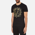 Versace Jeans Men's Embroidered T-Shirt - Black: Image 2
