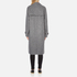 Alexander Wang Women's Oversized Trench Coat with Triple Snap Detail - Gravel: Image 3