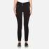 Versus Versace Women's Studded Pocket Jeans - Black: Image 1