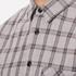rag & bone Men's Beach Buttoned Shirt - Grey Check: Image 5