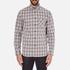 rag & bone Men's Beach Buttoned Shirt - Grey Check: Image 1