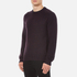 rag & bone Men's Wyatt Crew Neck Sweatshirt - Burgundy: Image 2