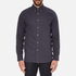 rag & bone Men's Lightweight Flannel Shirt - Navy: Image 1