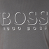 BOSS Hugo Boss Men's Large Logo T-Shirt - Dark Grey: Image 5