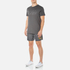 BOSS Hugo Boss Men's Large Logo T-Shirt - Dark Grey: Image 4