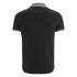 Brave Soul Men's Steranko Panel Tipped Polo Shirt - Black: Image 2