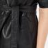 Gestuz Women's Sash Leather Kimono - Black: Image 6