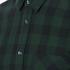 J.Lindeberg Men's Daniel Soft Check Shirt - Green: Image 5