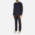 J.Lindeberg Men's Chad Pattern Sweatshirt - Blue: Image 4