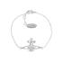 Vivienne Westwood Jewellery Women's Simone Bas Relief Bracelet - Rhodium: Image 1