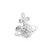 Vivienne Westwood Jewellery Women's Simone Bas Relief Earrings - Rhodium: Image 2
