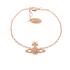 Vivienne Westwood Jewellery Women's Grace Bas Relief Bracelet - Light Peach: Image 1