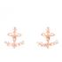 Vivienne Westwood Women's Toni Earrings - Pink Gold: Image 1