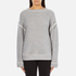 Helmut Lang Women's Heavy Loop Back Terry Jumper - Dark Heather: Image 1