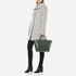 Aspinal of London Women's Marylebone Medium Croc Tote Bag - Forest Green Croc: Image 2