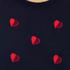 PS by Paul Smith Women's Heart Intarsia Jumper - Navy: Image 5