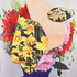 PS by Paul Smith Women's Floral Vase Pauls Photo T-Shirt - Multi: Image 6
