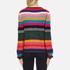 PS by Paul Smith Women's Multi Stripe Jumper - Multi: Image 3