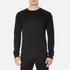 BOSS Orange Men's Wheel Crew Neck Sweatshirt - Black: Image 1