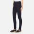 Vero Moda Women's Nine High Waisted Denim Jeans - Dark Blue Denim: Image 2