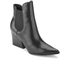 Kendall + Kylie Women's Finley Leather Heeled Chelsea Boots - Black: Image 2