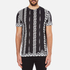 Versus Versace Men's Printed Crew Neck T-Shirt - White: Image 1