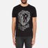 Versus Versace Men's Large Lion Logo T-Shirt - Black Stampa: Image 1