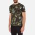 Versus Versace Men's Camo Print Crew Neck T-Shirt - Stampa: Image 2