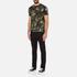 Versus Versace Men's Camo Print Crew Neck T-Shirt - Stampa: Image 4