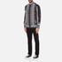 Versus Versace Men's Printed Long Sleeve Shirt - Black/White: Image 4
