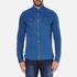 Scotch & Soda Men's Western Denim Shirt - Worker Blue: Image 1