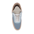 Filling Pieces Women's Quilted Low Top Trainers - Moon Pink/Blue: Image 3
