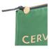 Clare V. Women's Flat Clutch Bag - Emerald Nappa With Blush Cervezafria: Image 4