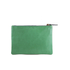 Clare V. Women's Flat Clutch Bag - Emerald Nappa With Blush Cervezafria: Image 6