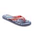 Smith & Jones Men's Amplitude Swim Shorts & Flip Flops - Rift Red: Image 5
