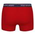 Polo Ralph Lauren Men's 3 Pack Boxer Shorts - White/Red/Blue: Image 3