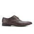 Clarks Men's Bampton Lace Leather Derby Shoes - Walnut: Image 1