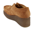 Clarks Originals Women's Peggy Bee Platform Shoes - Cola Suede: Image 4